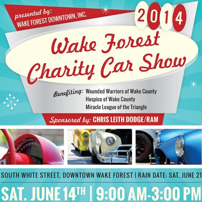 Wake Forest Car Show - June 14th 2014